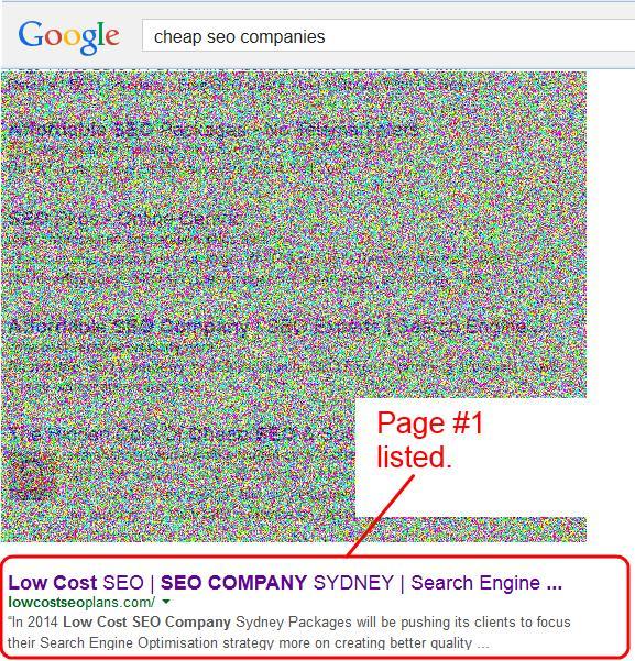 cheap seo companies