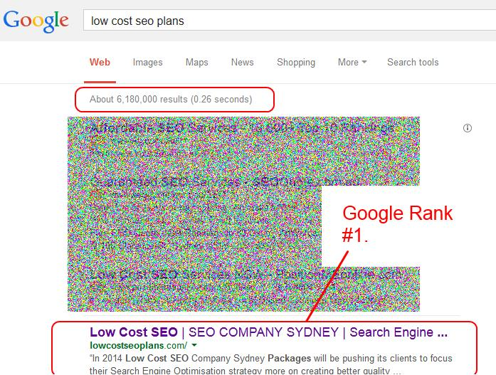 low cost seo plans