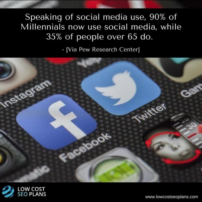 Social media for oldies