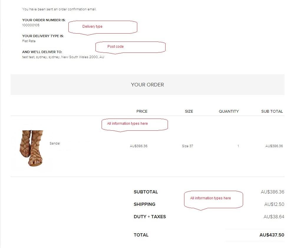 enhanced eCommerce checkout cart